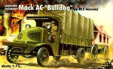 MACK AC BULLDOG TYPE HC-3 WW I CAMION (American Expeditionary corps MKGS 1/72 tr/min