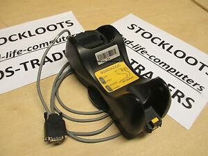 Datalogic DRAGON M131/D Charger Base Cradle OM-3000 Incl RS232 Cable - Excl PSU