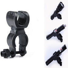 For Bicycle Torch Clamp LED Torch Light Clip Mount Flashlight Bicycle Holder