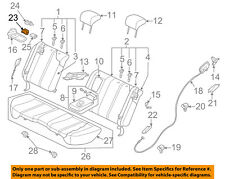 MAZDA OEM 07-12 CX-7 Rear Seat-Cushion Cover Left EG21882P802