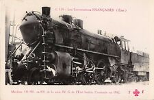CPA THEME TRAIN LOCOMOTIVES ETAT MACHINE N°131 901