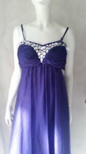 APART GLAMOUR Kleid festliches langes Kleid lila Gr.40/38 UVP Euro 219**NEU