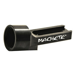 Guerrilla Air MACHETE ASA tank adapter for paintball gun bottomline black