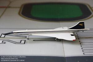 JC Wing BOAC Aerospatiale Concorde SST in Old Color Diecast Model 1:400