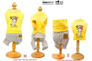 Ambaby Pet Clothes Dog Jumpsuit Small Medium Puppy Shirts Dog Sweater Pet Jumper