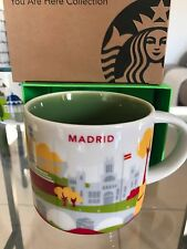 Starbucks Coffee 'You Are Here' MADRID YAH City Mug, Spain! :) Espana* Barca*