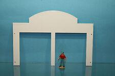 Façade N°2 - Pour bâtiment, garage ou atelier, diorama au 1/43