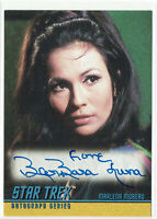 Star Trek The Original Series TOS Season 2 Autograph Card A43 Barbara Luna