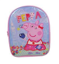 Peppa Pig Vacances Rose Sac à Dos Enfant Tout-Petit Sac D'école Sac à dos