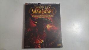 Guide stratégique officiel bradygames World of warcraft WOW Cataclysm