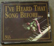 I`ve Heard That Song Before... 3 CD Set. Music & Memories