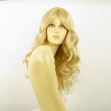 length wig curly golden blond wick very light blond ref: MICKI 24BT613 PERUK