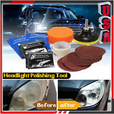 Professional Visbella Car Headlight Lens Restoration Repair Kit Polishing Tool U