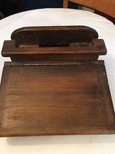 Antique/Primitive Wood Lap Desk