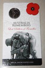 (PL)2010 Australia Lost Soldiers of Fromelles 20c Unc Coin ROYAL AUSTRALIAN MINT