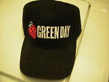 GREEN DAY BASEBALL CAP HAT UNUSED OLD DEAD STOCK 2000  BILLIE JOE ARMSTRONG