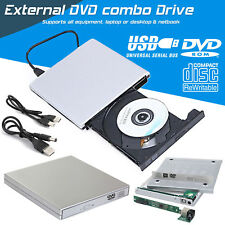 External SATA USB 2.0 CD DVD ROM RW Drive Caddy Case Cover PC Laptop New 2018
