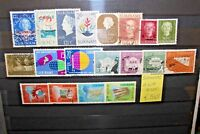 FRANCOBOLLI SURINAME 19 DIFFERENT STAMPS TIMBRATI USED LOT (CAT.SC)