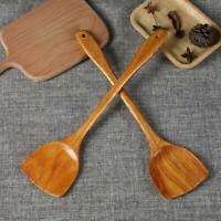 Natural Wooden Cooking Shovel Spatula Turner Kitchen Utensils Non-stick Cookware