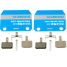 2x Shimano B01S - Disc Brake Pads - Resin - M525 M495 M475 M465 M416 M446 M315