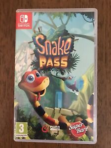 Snake Pass - Super Rare Games - Nintendo Switch - Complete