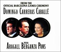 Domingo,Carreras, Caballe - Official Barcelona Games (13 Track CD: 1992) VGC