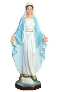 Estatua Madonna Milagrosa CM 40 IN Resina