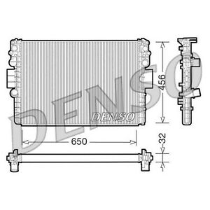 DENSO Radiator - DRM12006 - Engine Cooling Part - Genuine DENSO OE Part