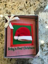 New listing Baby First Christmas Photo Album Holds 100 Photos By Baby Connection