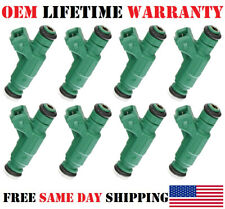 8X Genuine Bosch Fuel Injectors for Range Rover Land Rover Discovery 4.0L 4.6L