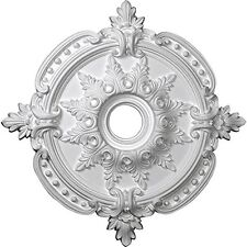 28 3/8in OD x 4 1/2in ID x 1 5/8in P Benson Classic Ceiling Medallion
