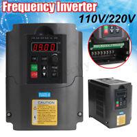 2.2kw 110V/220V Vocter Variable Frequency Drive Inverter VFD Motor Speed