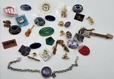 Music Lapel Pin Lot/Beatles Bracelet TE696