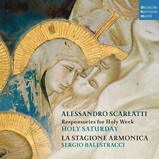 LA STAGIONE ARMONICA-EASTER RESPONSORI O.T.HOLY WEEK-THE HOLY SATURDAY  CD NEUF