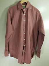 Tailorbyrd Mens Long Sleeve Button Up Shirt Striped Size XXL