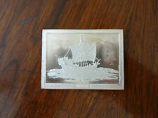 Franklin Mint Great Sailing Ships of History Sterling Ingot Hansa Cog