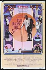 G880 EVIL UNDER THE SUN one-sheet movie poster '82 Agatha Christie