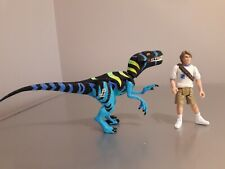 Rare Jurassic Park Chaos Effect Raptor Alpha Velociraptor Gone Bad figure 1998