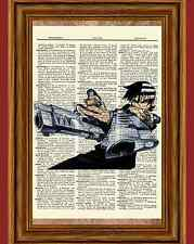 Soul Eater Dictionary Art Print Poster Picture Anime Manga Death the Kid Figure