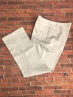 Lands' End Women's Work Casual Khaki Pants - Chinos Khaki - Size 10