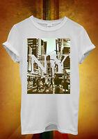 New York NY Retro Vintage Cool Funny Men Women Unisex T Shirt Tank Top Vest 738
