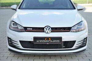 Kerscher Carbon Front Spoiler Spliter VW Golf GTI MK7