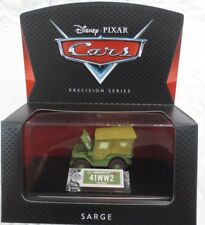 DISNEY PIXAR CARS SARGE PRECISION SERIES NEW IN PACKAGE COLLECTOR
