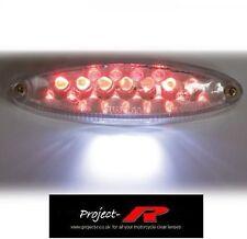 6v 6 voltios claro LED Luz de la cola 'E' Marcado STREET FIGHTER Quad Scooter personalizada 'e'