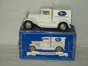 Liberty Classics ~ 1931 Ford Pickup ~ Die Cast Coin Bank Comes With Key