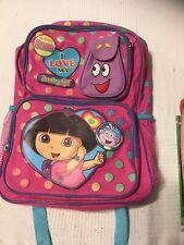 Dora The Explorer Dora Plush Bag Toddler School Backpack
