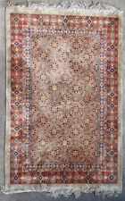 Tapis ancien rug Chinois Chinese Chine Soie Silk 1950