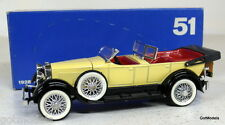 Rio 1/43 - 51 1928 Lincoln Sport Phaeton Scoperta Modelo Diecast Car