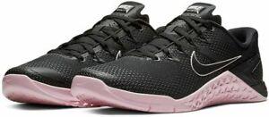 NEW Nike Metcon 4 Cross Training Shoes AH7453-011 Men's Size 9 'Black Pink Foam'