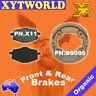 Front Rear Brake Pads Shoes Yamaha TT600 TT 600 N 85-88